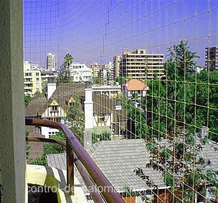 protección de balcones con control de palomas